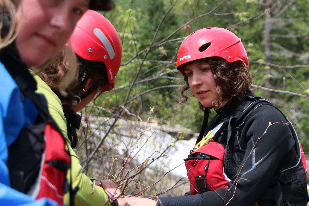 Entrevues avec des étudiants des formations de sauvetage en eau vive