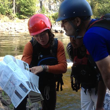 Guide de poche de sauvetage en eau vive