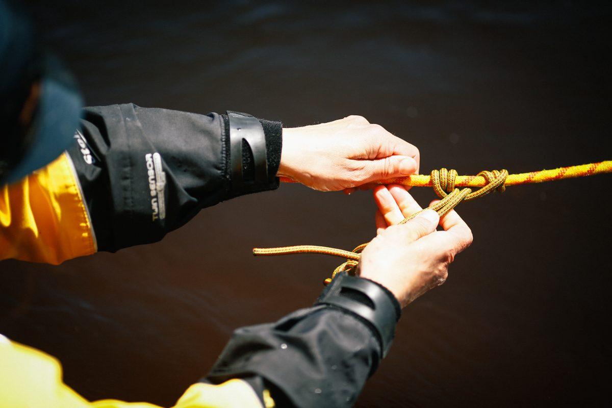 7 noeuds utiles pour le sauvetage en eau vive